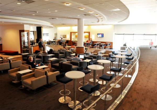 Re-do and expansion at Delta's big Sky Club at ATL's A-17 (Photo: Delta Air Lines)