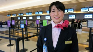 ANA crews are ready to welcome business travelers to the new Club at San Jose
