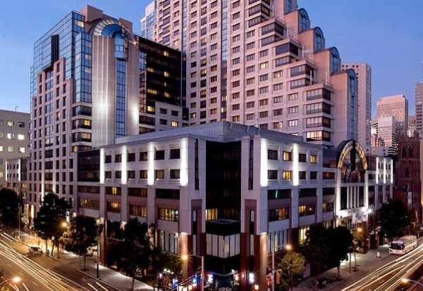 Marriott Marquis in downtown San Francisco