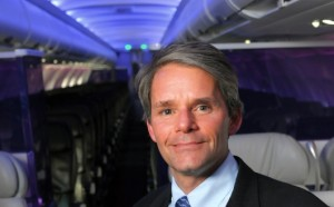 Virgin America CEO David Cush