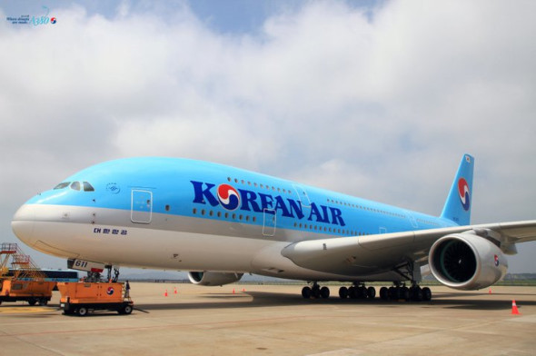 Forget about earning SkyMiles on Korean Air's new A380 flights (Korean Air)
