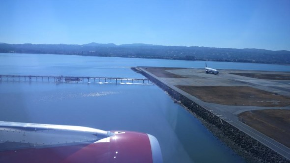 Here's a look at the site where Asiana 214 crash landed at SFO (Photo: Chris McGinnis)