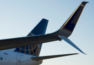 United's new Scimitar split winglet (United)