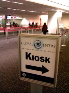 Lines at Global Entry kiosks? Oh my! (Chris McGinnis)