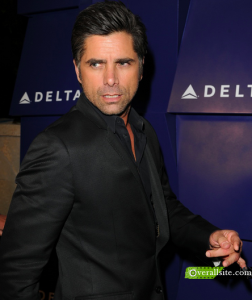Delta's party in LA w actor John Stamos (Overallsite.com)
