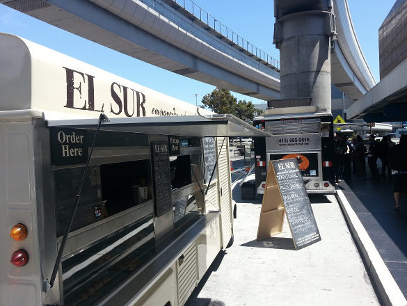 Off-the-Grid trucks at SFO's Terminal 1 Thursdays 11-2 (SFO)