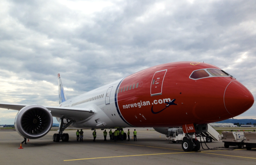 Norwegian will fly a brand new Boeing 787 Dreamliner between Oakland, Oslo and Stockholm next year.
