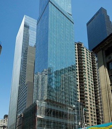 A brand new Marriott Courtyard AND Residence  Inn open in this skyscraper near Central Park (Photo: Marriott)