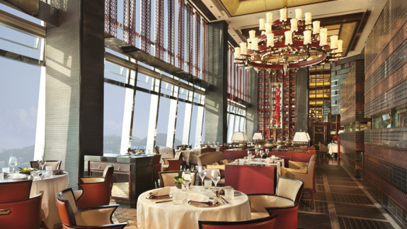 Dim Sum at the Ritz Carlton's Tin Lung Heen is incredibly elegant. (Photo: Ritz Carlton)