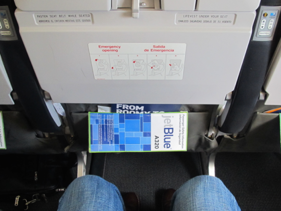 JetBlue's Even More Space seats will be missed on the LOOONG OAK-Washington Dulles flight! (Chris McGinnis)