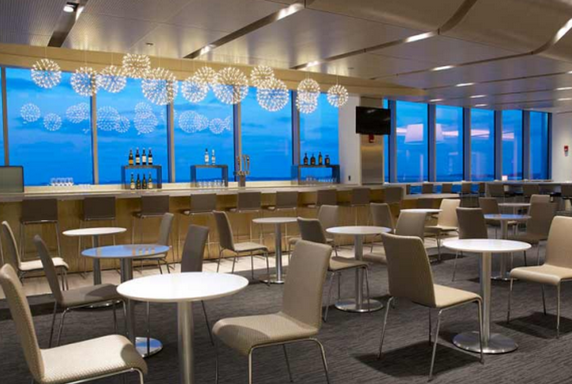 New United Clubs at SFO and ATL will sport a new look similar to the new club in Boston (pictured).