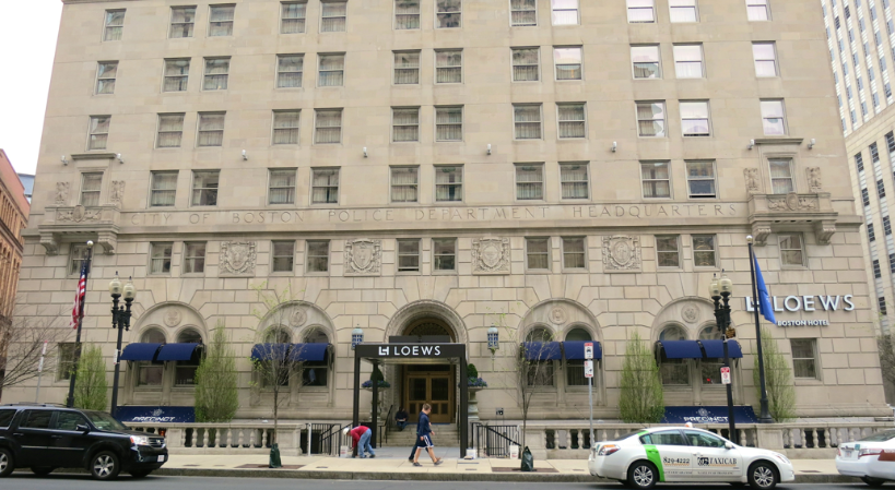 The Loews Boston is in the old Police Precinct Building (Photo: Chris McGinnis)