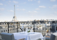 Room with a view! A posh new Peninsula opens in Paris (Photo: Peninsula Hotels)