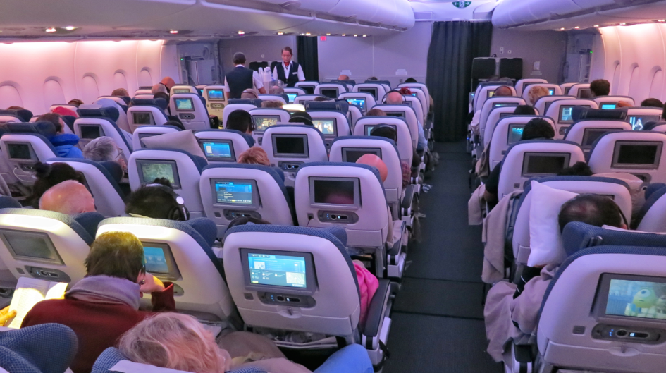 Onboard British Airways's new A380 (Photo: Chris McGinnis)