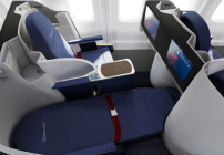 Rendering of Delta's new lie flat seating on transcon 757s. Been on one yet?