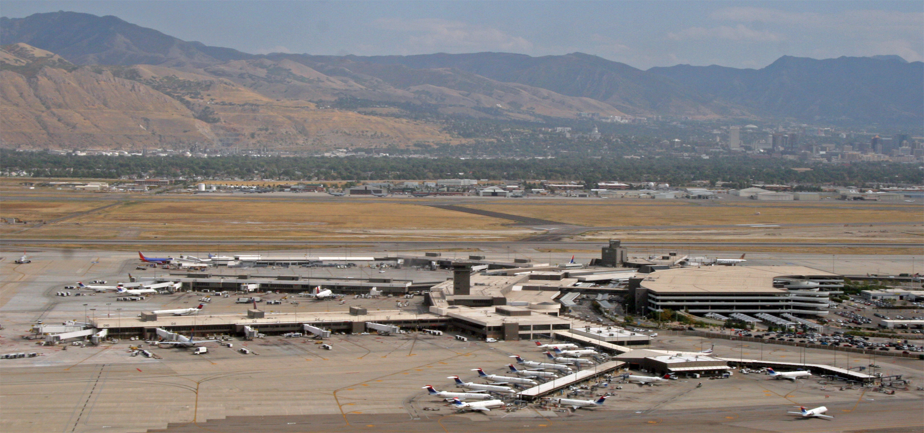 Salt Lake City Airport (Photo: Jim Glab)