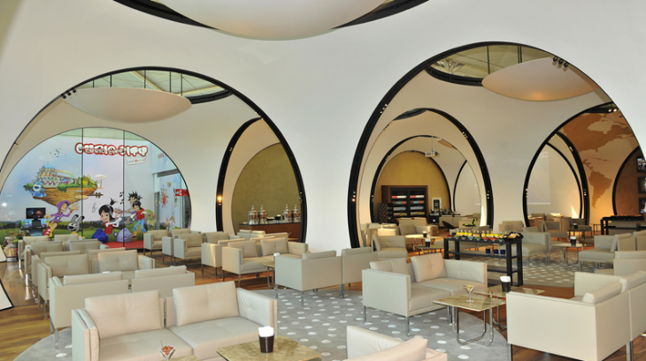 Turkish Airlines's exotic business class lounge at IST (Photo: Turkish Airlines)
