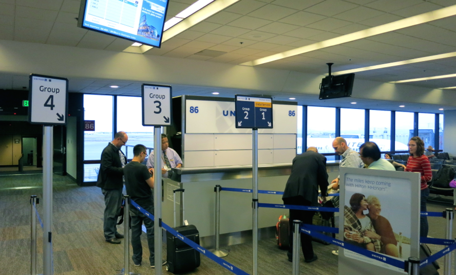 Early boarding is one of the perks you get when the United Explorer card.