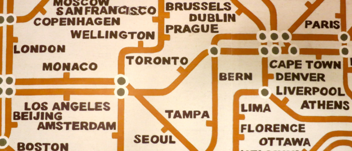 How do you like our new TravelSkills wallpaper? Yep, that's what we have on our walls!