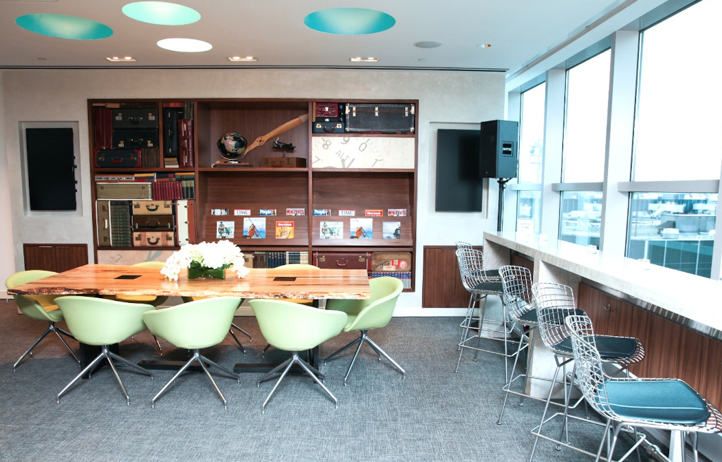 Nice views from the new American Express Centurion Lounge at LGA (Photo: AMEX)