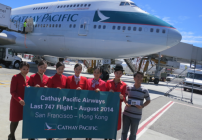 A fond farewell to Cathay's Queen of the Skies (Photo: Chris McGinnis)