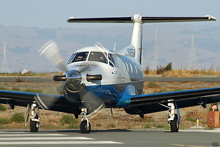 An 8-passenger SurfAir Pilatus. Have you or would subscribe?  (Photo: Chasen Richardson)
