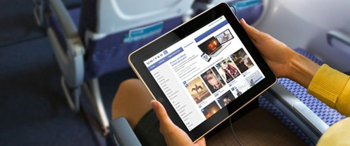 BYO device entertainment systems working on United flights (Photo: United)