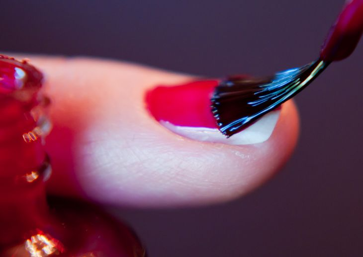 Flight attendants can sniff out nail painting a mile away. But is it verboten?
