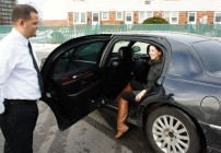 FlightCar provides a free black car shuttle to the airport and back. (Photo: FlightCar)