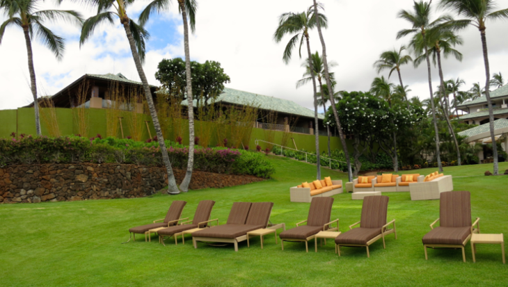Major room revamp hidden behind temporary walls at Four Seasons Manele Bay (Chris McGinnis)