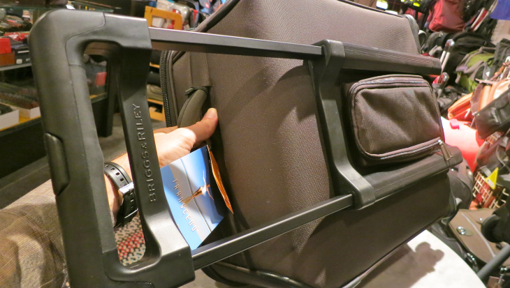Sturdy external frames and handles mean more room inside the bag (Photo: Chris McGinnis)