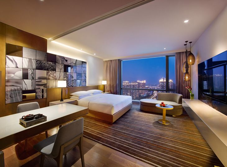 Big US brands like Hyatt are making major inroads into Asia-- this is the new Hyatt in Suzhou (Photo:  Hyatt)