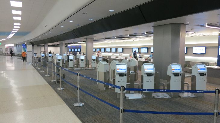 United's brand new Premier Check in area in SFO Terminal 3 (Photo: Chris McGinnis)
