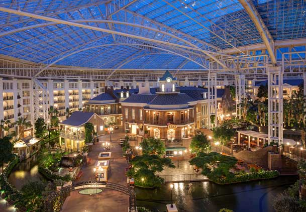 Marriott's big, bright, glass-top Gaylord Opryland hotel blocked guest wi-fi (Photo: Marriott)