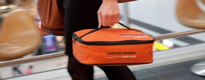 """Order your meal to carry onboard in one of these """"hampers"""" from Heathrow (Photo: Gordon Ramsay)"""