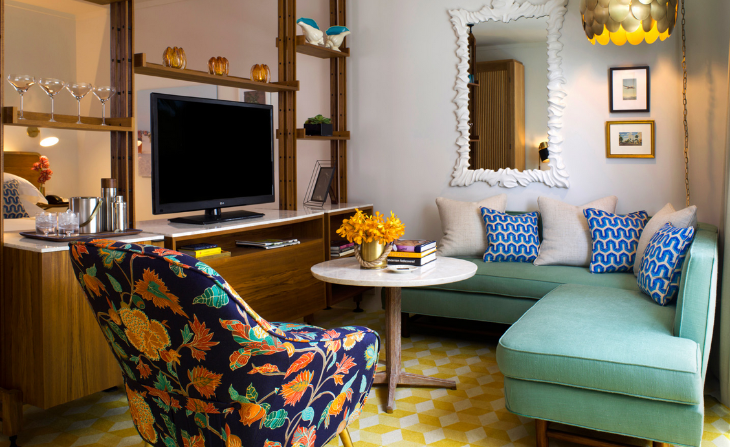 A suite at the new Thompson Hotel in Miami Beach- opens Nov 21 (Photo: Thompson Hotels)
