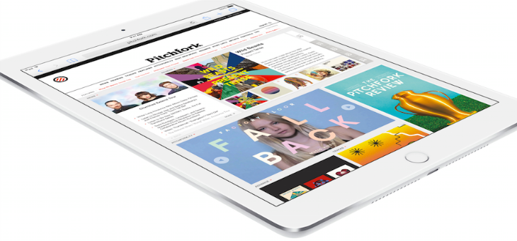 Apple's new iPad Air 2