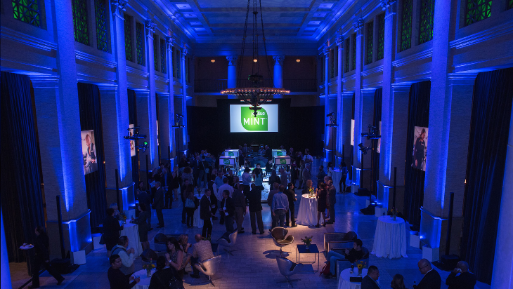 JetBlue hosted a shindig at San Francisco's Bentley Reserve to kick off its new Mint service on SFO-JFK (Photo: JetBlue)