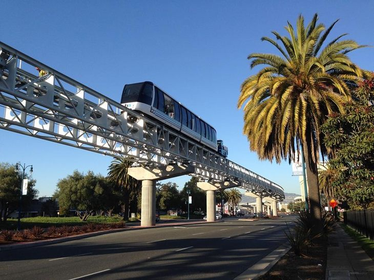 The long awaited BART link to Oakland airport expected to open this month (Photo: BART)