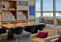 The new American Express Centurion Lounge at New York La Guardia. Daily fee: $50 (Photo: American Express)