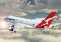 The Qantas A380  DFW-SYD nonstop is now the longest flight from the US (Photo: Qantas)