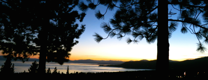 Lake Tahoe at sunset (Photo: Chris McGinnis)