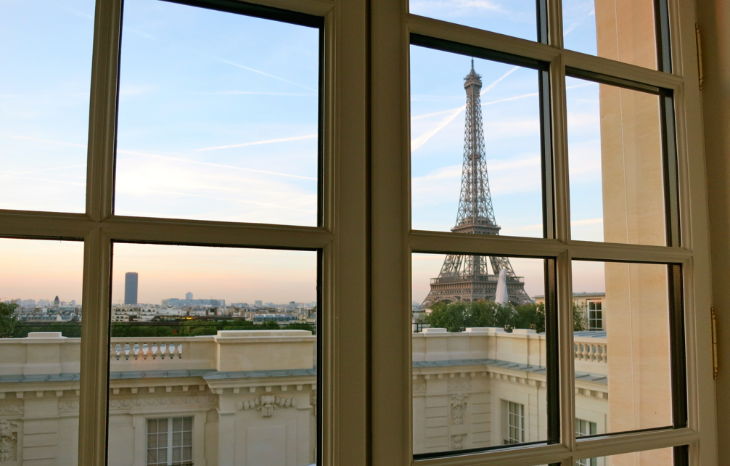 During off season, Paris is possible for just 20,000 miles (Photo: Chris McGinnis)