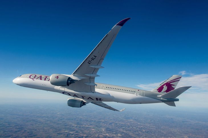Qatar Airways A350 (PHOTO: Qatar Airways)