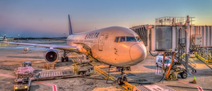 A mesmerizing look at a Delta jet from a window of ATL's Concourse E (Photo: AP Gouge Photography)