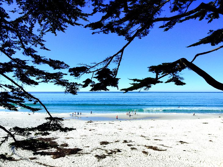 It's beach time in California this weekend! Temps could hit 80 degrees in Carmel, pictured here (Chris McGinnis)