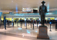 The new terminal at Dallas Love Field feels a lot like SFO's Terminal 2- light, airy, modern with a broad selection of dining & shopping options. Were impressed! (Photo: Chris McGinnis(