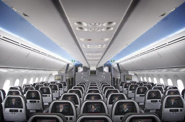 Seatback screens are still staying on American wide-bodies like this 787 -- for now. (Image: American)