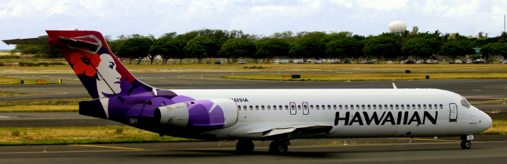 Hawaiian and Delta are the only two US airlines operating Boeing 717s (Prayitno / Flickr)
