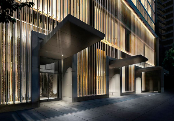 Seen this entrance to the new Baccarat hotel on W 53 in NYC yet?